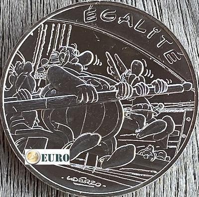 10 euros France 2015 - Asterix égalité Aux Jeux Olympiques