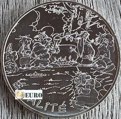 10 euros France 2015 - Asterix égalité gladiateur
