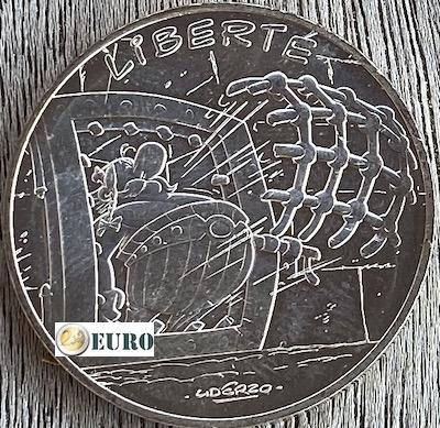 10 euros France 2015 - Asterix Liberté La Serpe d'or