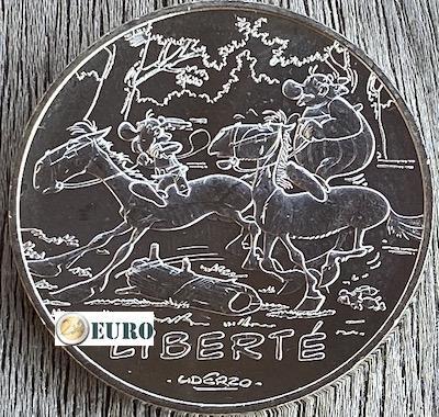 10 euros France 2015 - Asterix Liberté Le Tour de Gaule d'Astérix