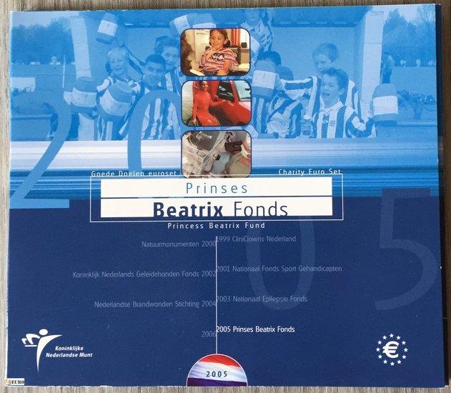 Série euro BU FDC Pays-Bas 2005 Beatrix Fonds