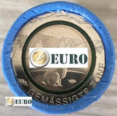Rouleau 5 euros Allemagne 2019 - Zone Tempérée
