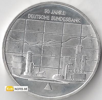 Allemagne 2007 - 10 euros J Bundesbank BU FDC