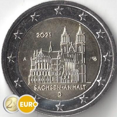 2 euros Allemagne 2021 - A Saxe-Anhalt UNC