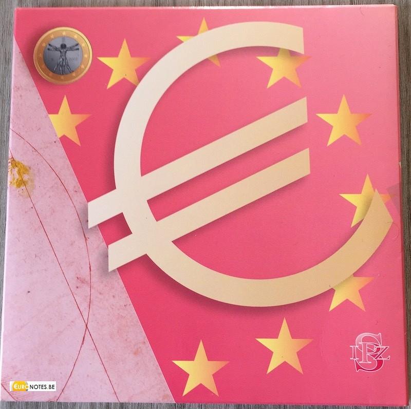 Italie 2005 - série euro BU FDC