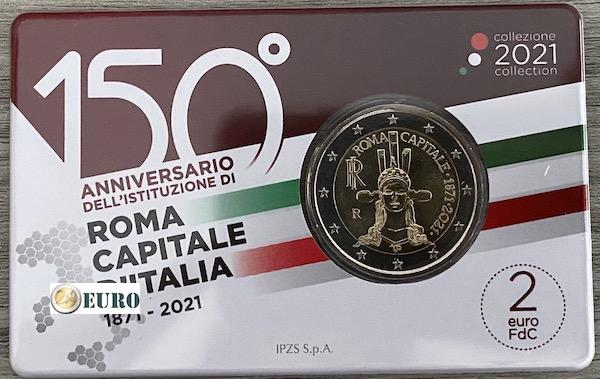 2 euros Vatican 2019 - 90 ans Cité du Vatican BU FDC Lettre Numis