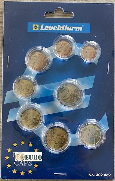 Leuchtturm 302469 - Capsules séries euro