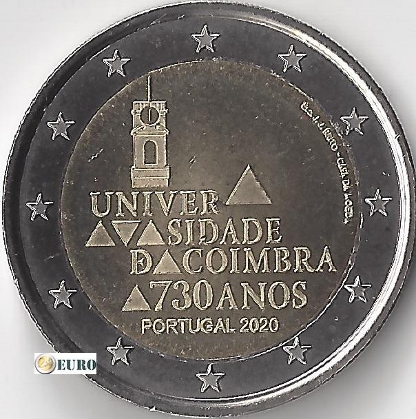 2 euros Portugal 2020 - Université de Coimbra UNC