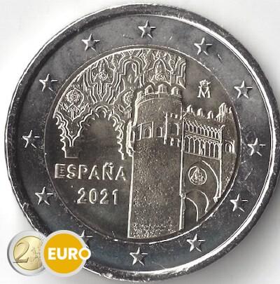 2 euros Espagne 2021 - Vieille ville de Tolède UNC