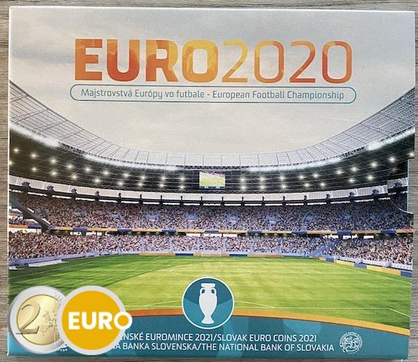 Série euro BU FDC Slovaquie 2021 - EURO 2020 football