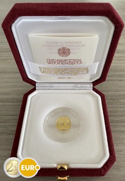 10 euros Vatican 2021 - Baptême BE Proof Or